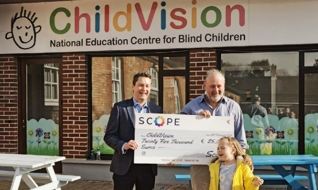 Scope CSR Donation To Childvision Charity