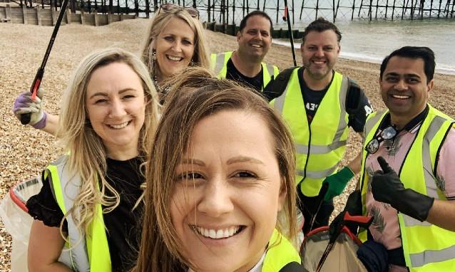 Scope Team Volunteering in Brighton, UK